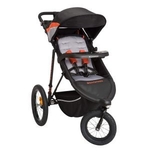 jogging stroller with front wheel lock