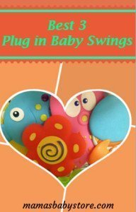 plug in baby swing