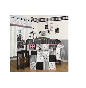 Black and White Baby Bedding -